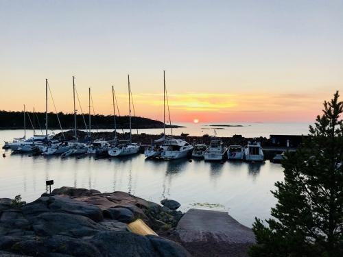 The harbor at Havsvidden